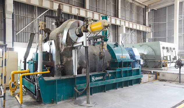 Steam Turbine Generator Unit for a Kenyan Sugar Mill